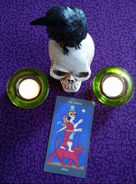 Dark Goddess Tarot 10-2to8, 2017 (1)