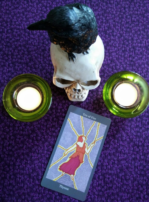 Dark Goddess Tarot 10-2to8, 2017 (3)
