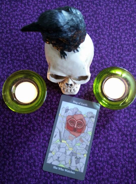 Dark Goddess Tarot 10-2to8, 2017 (4)