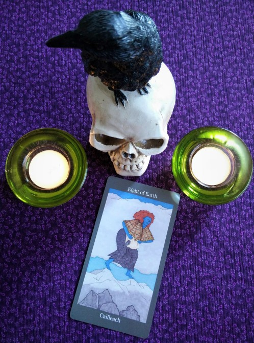 Dark Goddess Tarot 10-2to8, 2017 (6)